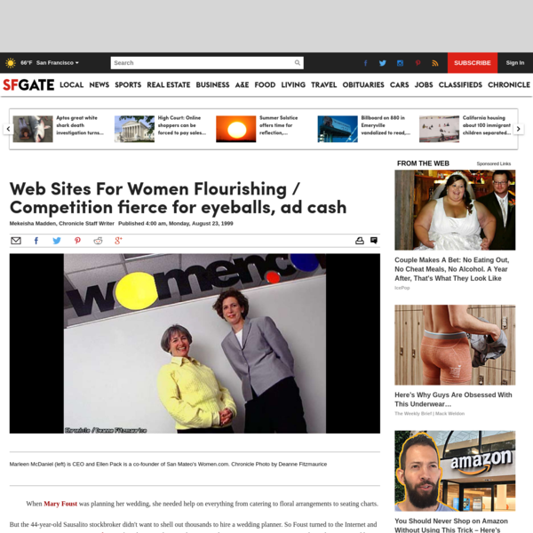 Web Sites For Women Flourishing / Competition fierce for eyeballs, ad cash