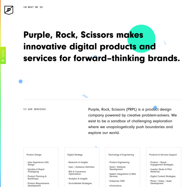 Digital Product Design & Development Agency | Purple Rock Scissors