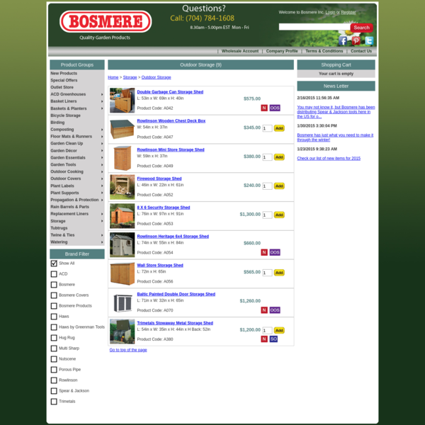 Bosmere Products