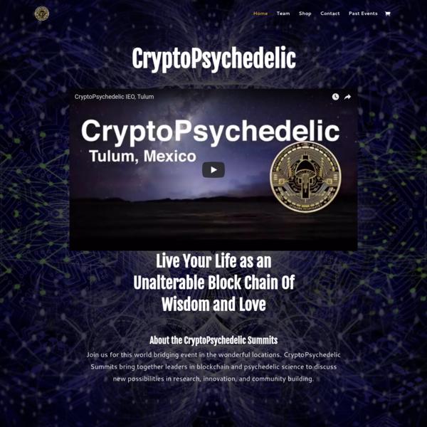 CryptoPsychedelic Summit