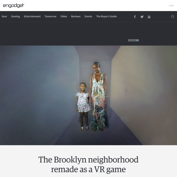 The Brooklyn neighborhood remade as a VR game