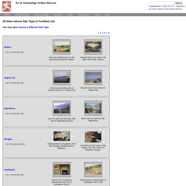 Art and Archaeology Artifact Browser