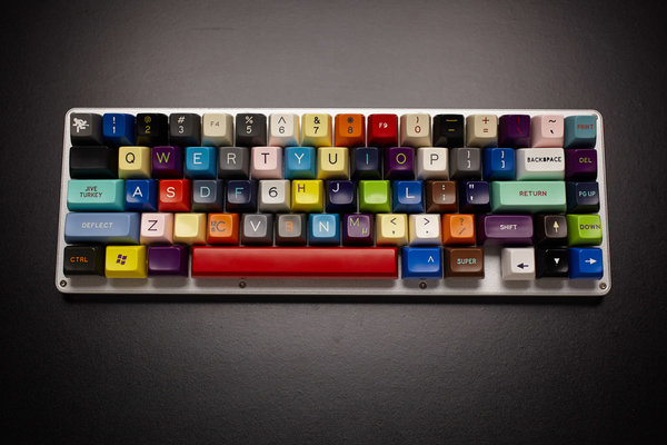 patchwork mechanical keyboard