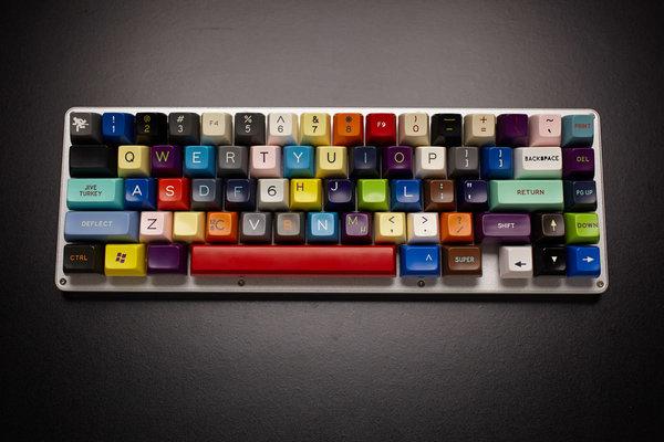 patchwork mechanical keyboard