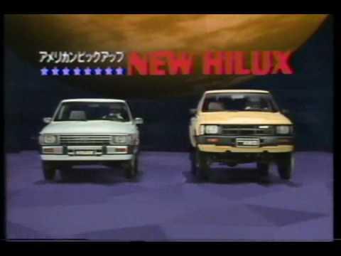 1984 TOYOTA HILUX Ad