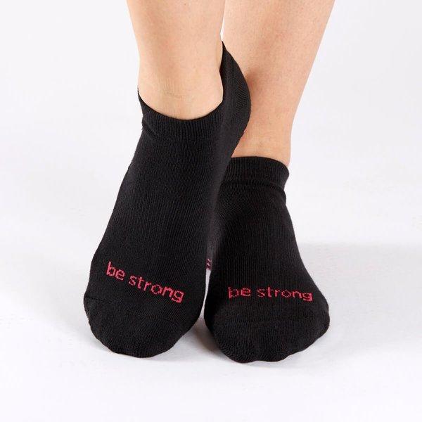 Be ____ grippy workout socks