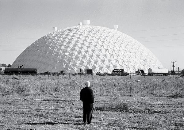Buckminster Fuller's geodesic domes ...   Phillip A. Harrington/Corbis