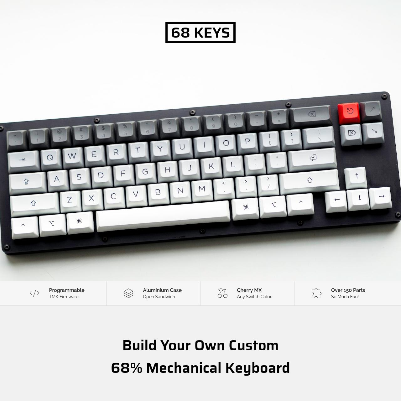 Are na / Custom 68% Mechanical Keyboard DIY Guide