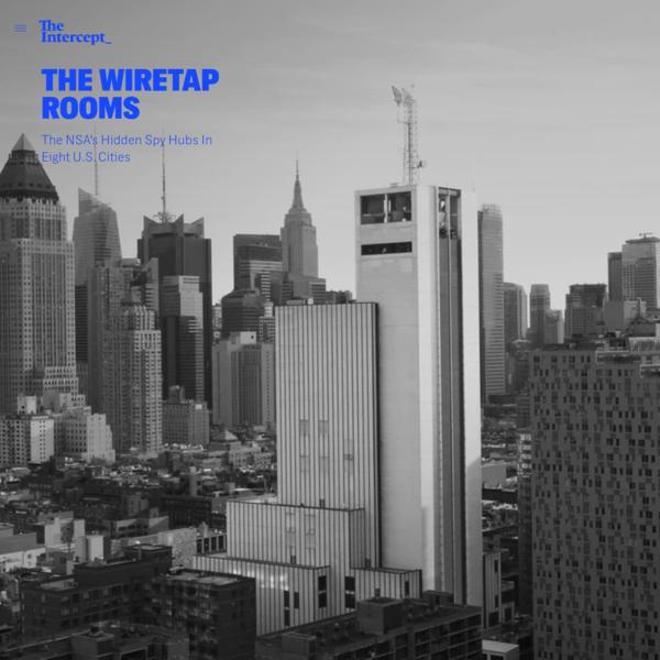 The NSA's Hidden Spy Hubs In Eight U.S. Cities