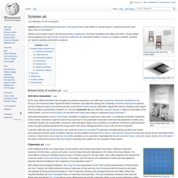 Systems art - Wikipedia