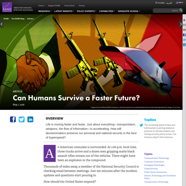 Can Humans Survive a Faster Future?
