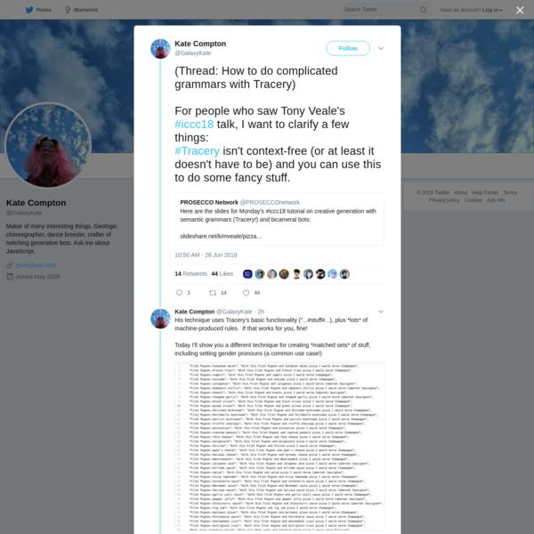 Kate Compton on Twitter