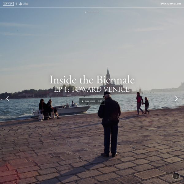 [Video] Explore the Venice Biennale in 360°
