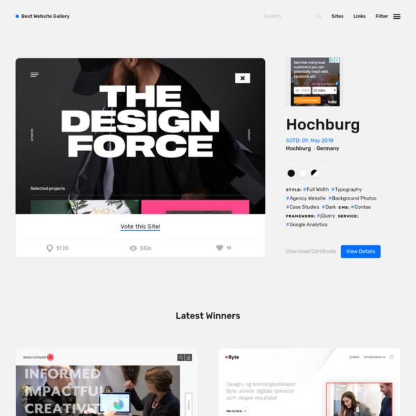 Best Website Gallery | Best Websites Gallery