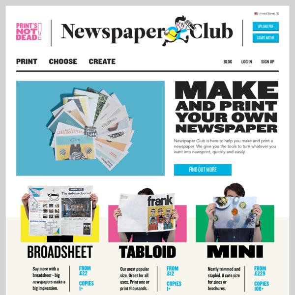 Newspaper Club, Glasgow