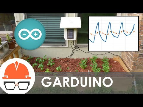 Gardening in the modern age means making things more complicated and arduous, with electrons, bits, and bytes. Behold: the garduino. My brother got me an arduino microcontroller board for Christmas, which to me was a solution looking for a problem. I finally found the problem: fresh herbs are expensive at the grocery store.