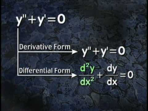 This clip provides an introduction to Differential Equations. Purchase the entire DVD at www.sdteach.com.