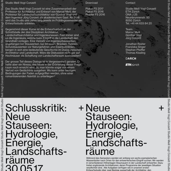 Studio Meili Vogt Conzett