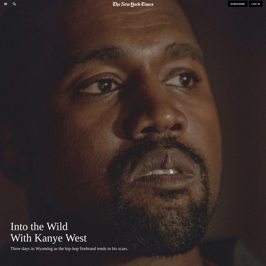 JACKSON, Wyo. - One afternoon early last year, Kanye West walked into the living room of his California home and found Tony Robbins - the Hulk-sized, concrete-grinned motivational speaker - waiting for him.