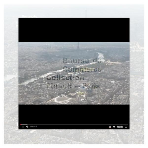 Collection Pinault - Paris, Bourse de Commerce. Ce site accompagne le chantier de la Bourse de Commerce / Collection Pinault - Paris qui ouvrira en 2019