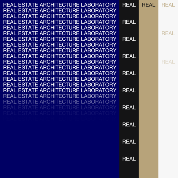 The Real Estate Architecture Laboratory is a foundation for alternative forms of development, property and ownership. REAL publishes the Real Review.