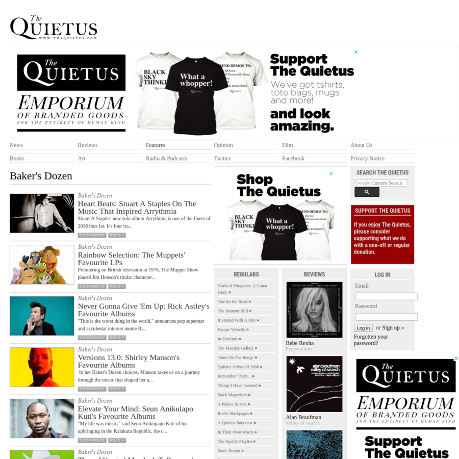 A new rock music and pop culture website. Editorial independent music website offering news, reviews, features, interviews, videos and pictures