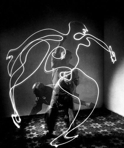 Picasso lightpainting