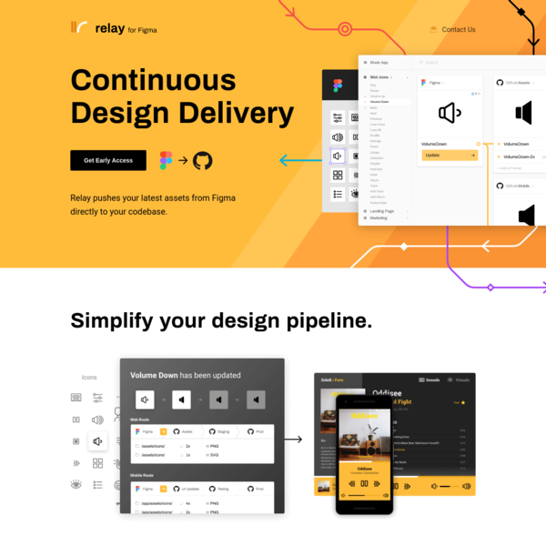 Relay for Figma   Continuous Design Delivery