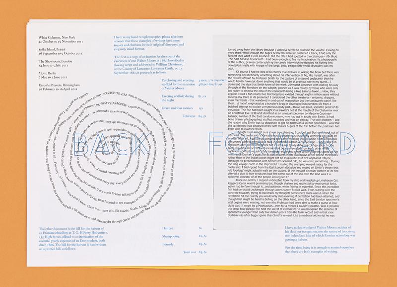 _Again, A Time Machine_ (London: Book Works, 2011–2012).  https://jameslangdon.net/