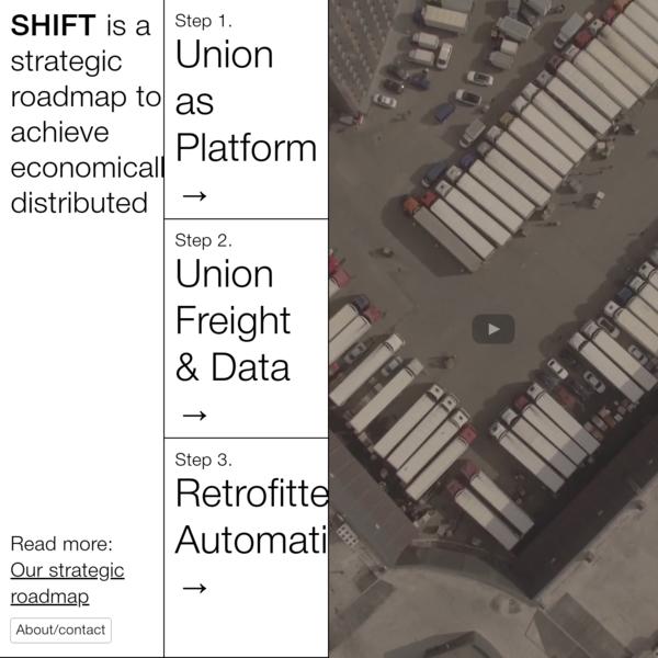 shift is a strategic roadmap