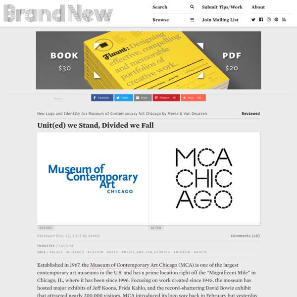 """Established in 1967, the Museum of Contemporary Art Chicago (MCA) is one of the largest contemporary art museums in the U.S. and has a prime location right off the """"Magnificent Mile"""" in Chicago, IL, where it has been since 1996."""