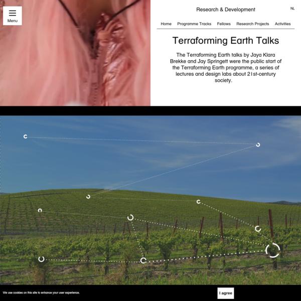 Terraforming Earth Talks