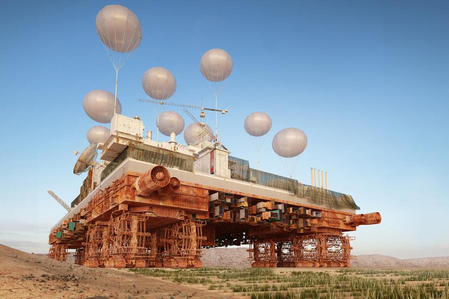 Malka Architecture, The Green Machine, 2014