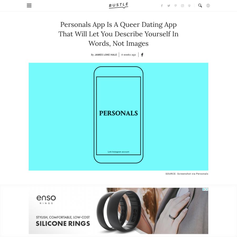 Instagram based dating app