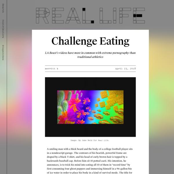 Challenge Eating - Real Life