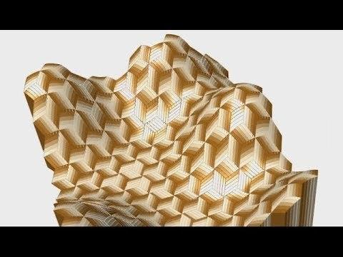[Grasshopper] 0059 Parallelogram Tile (Slow ver.)