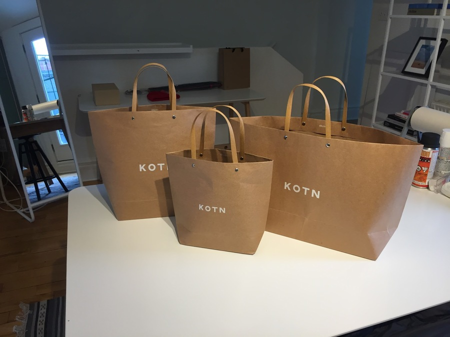 In-store bags