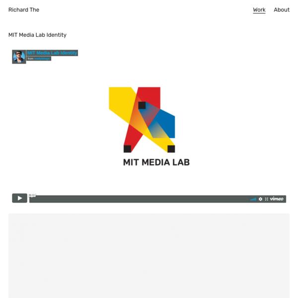 Richard The   MIT Media Lab Identity