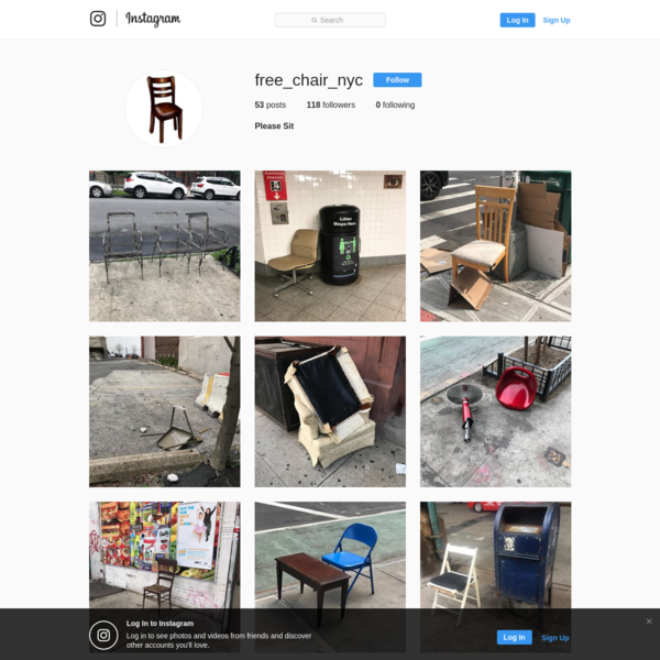 118 Followers, 0 Following, 53 Posts - See Instagram photos and videos from Please Sit (@free_chair_nyc)