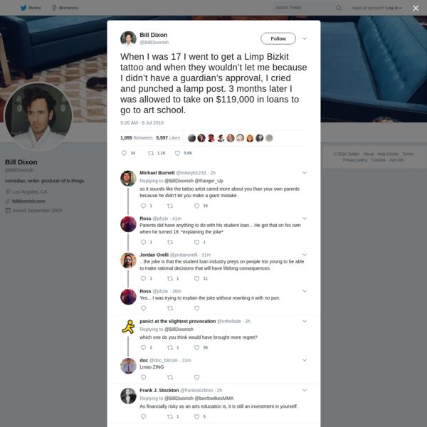 Bill Dixon on Twitter