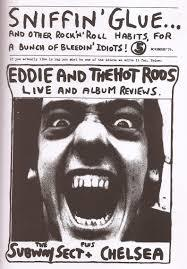 early punk mags --> hand-drawn stuff + photo copied