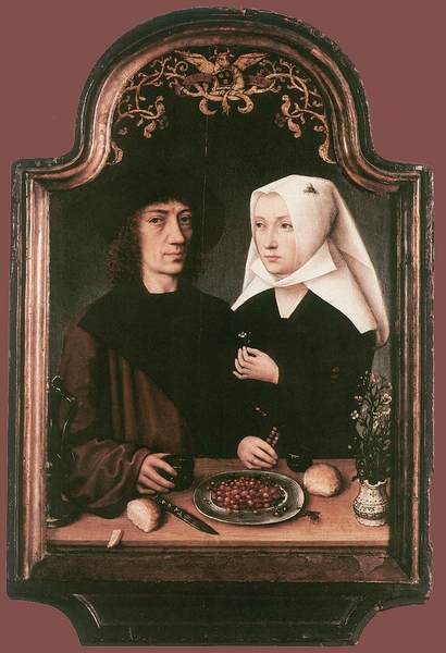 Portrait of the Artist and His Wife (artist unknown), 1496