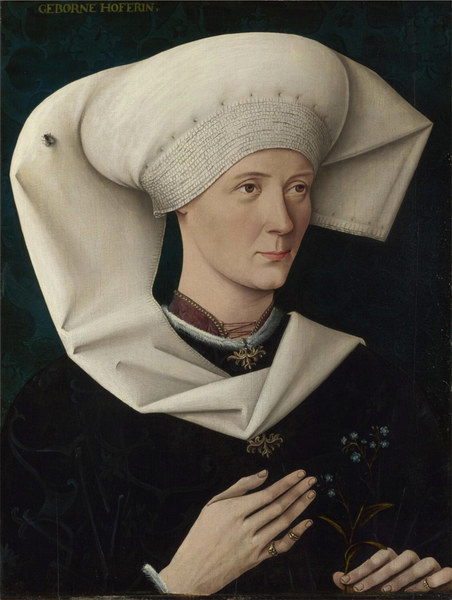 Portrait of a Woman of the Hofer Family (artist unknown) 1470
