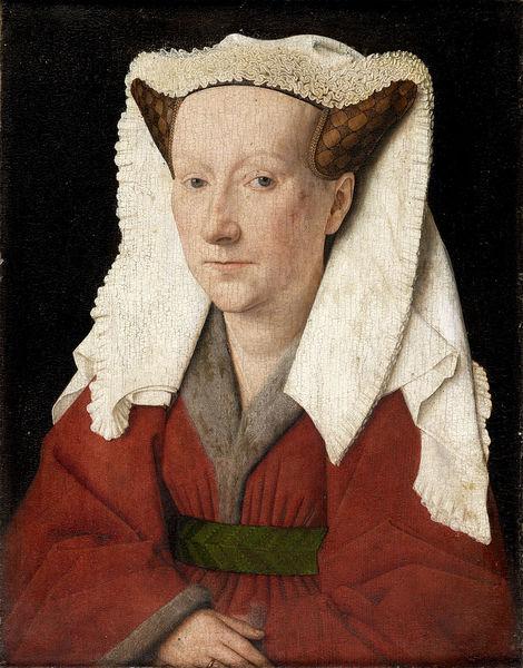 Portrait of Margareta van Eyck by Jan van Eyck, 1439