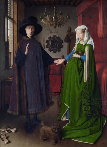 The Arnolfini Portrait by Jan van Eyck, 1434