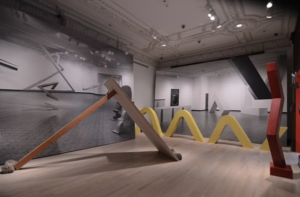 "NEWS, Exhibition view, ""Other Primary Structures,"" 2014, The Jewish Museum"