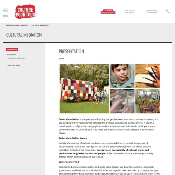 Presentation - Cultural Mediation