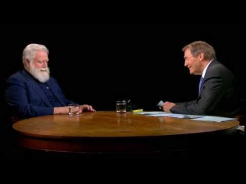 "A discussion with artist James Turrell, who's installations examine ""perception, light, color, and space, with a special focus on the role of site-specificity."" (Charlie Rose, July 1 2013) Part 2/2: http://www.youtube.com/watch?v=1-gmHA7KbcU"