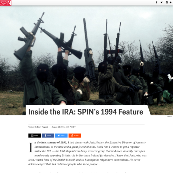 Inside the IRA: