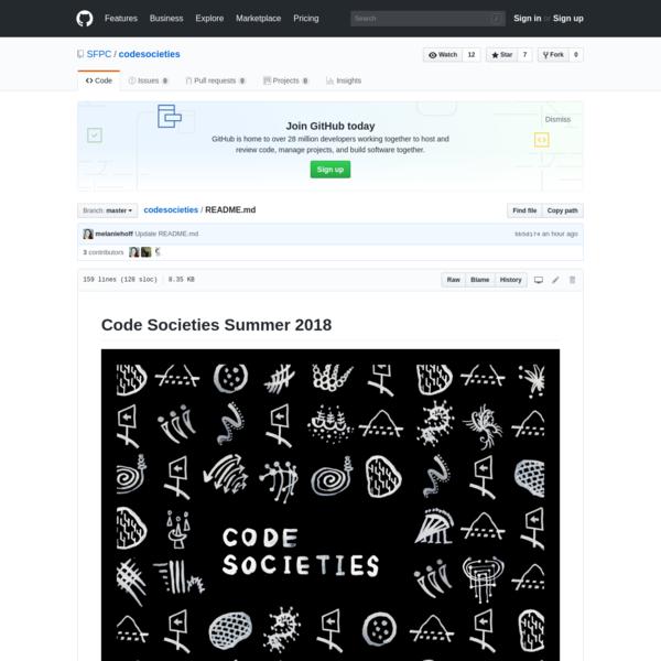 SFPC/codesocieties